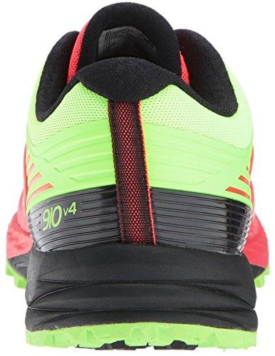 New Balance Herren 910v3 Traillaufschuhe Energy Red/Energy Lime