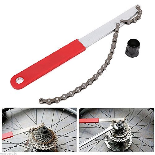 DLLL Cycling Bike Bicycle BMX Chain Whip Wheel Sprocket Remove Bike Tool for road vehicles folding bike,Mountain ()