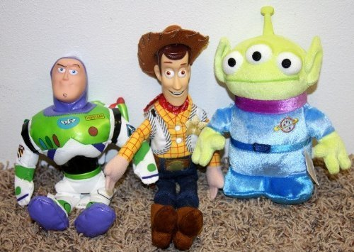 Disney Toy Story Plush Beanie Doll Lot of 12