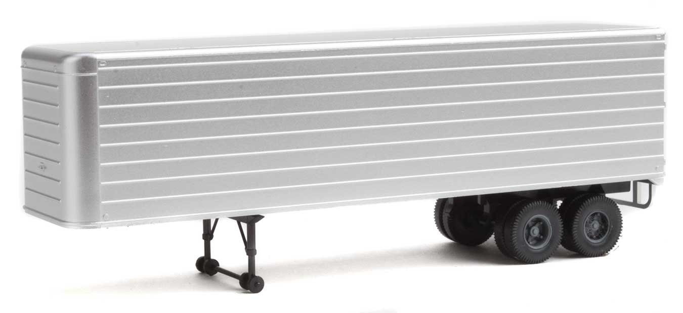 35' Fluted-Side Trailer 2-Pack - Assembled -- Painted/Unlettered