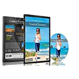 Fitness Journeys -Coastal Scenery ,for indoor walking, treadmill and cycling workouts