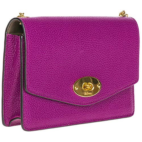 leather bag purple messenger body cross shoulder Mulberry women's Aafq5xYO