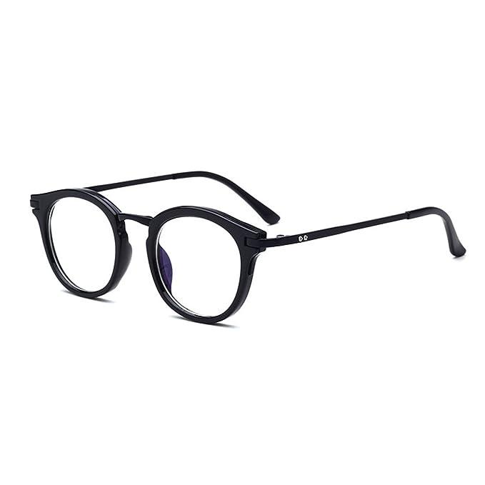 Amazon.com: D.King Vintage Round Prescription Eyeglasses Horn Rim ...