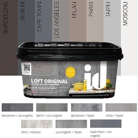Pittura Effetto Cemento Loft Originale Id Parigi Amazon It Fai Da Te