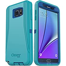 OtterBox DEFENDER SERIES Case and Holster for Samsung Galaxy NOTE 5 - Retail Packaging - (Light Teal/Royal Blue)