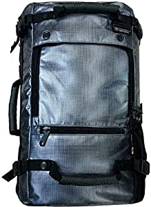 Artistic 21 Inch Silver Laptop Backpack, HA2021
