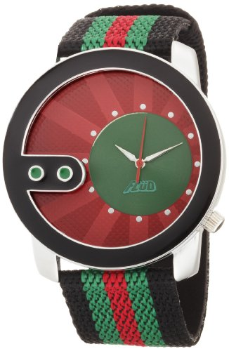 Flud Unisex #XCH008 Exchange Tri Color Watch with Interchangeable Straps