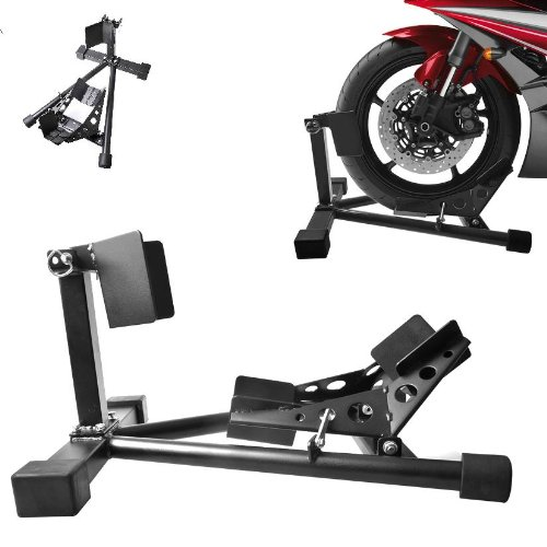 Rueda delantera Pinza Stand Carril Moto Soporte Motocicleta Balancí n montaje soporte Worktekk®
