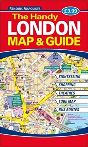 The Handy London Map Guide Bensons MapGuides - London map guide
