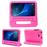 Bolete Galaxy Tab A 7.0 Kids Case, EVA Light Weight Shock Proof Cover Soft with Handle Stand Case Cover for Galaxy Tab A 7.0 Inch SM-T280 (2016 Release)Tablet,Rose