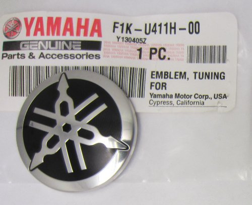 Yamaha Snowmobile Emblem F1K U411H 00 00 F1KU411H0000