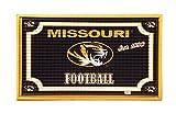 Team Sports America 41EM930 Embossed Door Mat-Missouri, Multicolor
