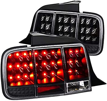 Ford Mustang Sequential Led Spec-D Tuning LT-MST99RGLED-SQ-TM Smoke Tail Light