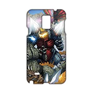 Cool-benz Wonderful Godzilla 3D Phone Case for Samsung Galaxy Note4