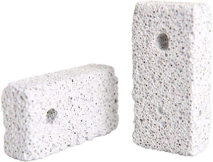 TINKLON - Juego de 10 Juguetes para Masticar con Piedras minerales para chinilla, hámster y cobayas