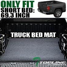 Topline Autopart Black Truck Bed Cargo Box Trunk Floor Rug Mat Carpet 04-07 Silverado/Sierra 5.8 Ft by Topline_autopart