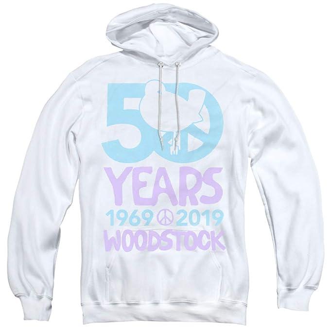 Woodstock 50 Simple Adult V-Neck T-Shirt