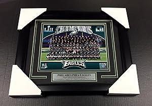 Philadelphia Eagles Team Photo #1 Super Bowl Sb Lii Champions Framed 8x10 Ertz