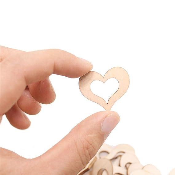 zarupeng✦‿✦ 50 unids Manual DIY en forma de corazón calendario ...