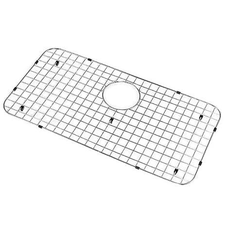 houzer bg3600 wirecraft kitchen sink bottom grid 27inch by
