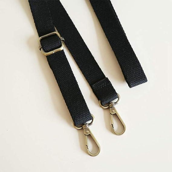 1pc Ladies Adjustable Shoulder Bag Strap Belt Metal Buckle Replacement Crossbody