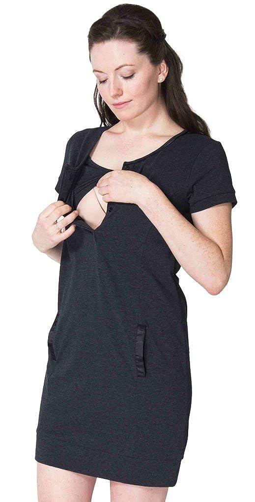 Momzelle Women's Breastfeeding Maria Nursing Tunic
