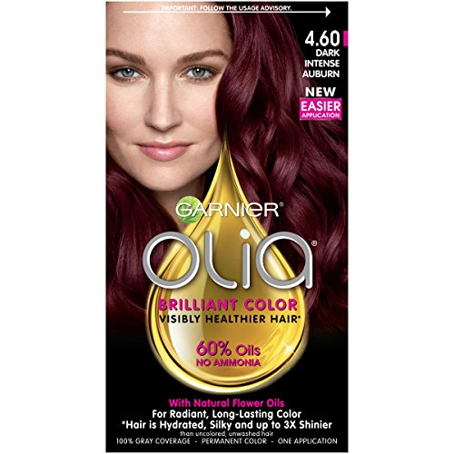 red dark hair dye - 1