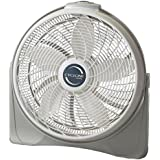 Lasko CYCLONIC Circulator 20 In Power Fan with Top Mounted Controls and Aerodynamic Fan Blades, BONUS FREE CLOVER HILL Air Refreshener Included