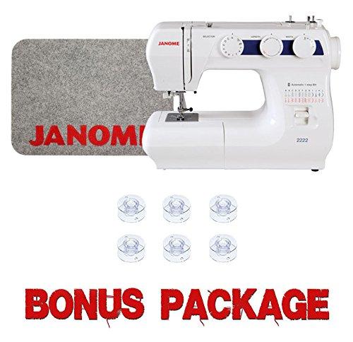 Janome 2222 Sewing Machine w/ Bonus Package