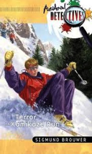 book cover of Terror on Kamikaze Run