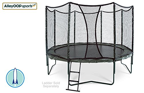 NEW-12-AlleyOOP-PowerBounce-Trampoline-with-Integrated-Safety-Enclosure