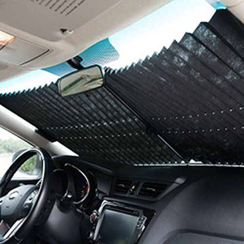 AMAZZANG-Auto Retractable Car Curtain Rear Window Shade Windshield Sunshade Shield - Gucci Sale Accessories Car