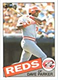 1985 Topps Baseball Card # 175 Dave Parker Cincinnati Reds Mint Condition- Shipped In Protective Screwdown Display Case!
