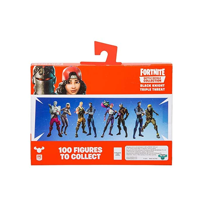 51rhNDr6eQL Every figure features 2-3 points of articulation and comes with its own display stand. Build your own Battle Royale and show off your collection! Every Battle Royale Collection mini-figure includes swap-able weapons, accessories, and Back Bling. Customise your favourite skin, just like in the game! From the gaming and pop culture phenomenon Fortnite, a Duo of 2 collectible figures!