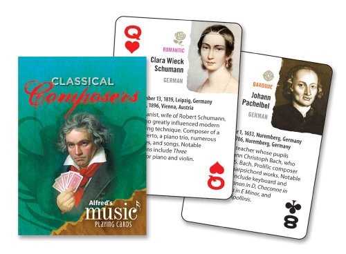 Composer Playing Cards