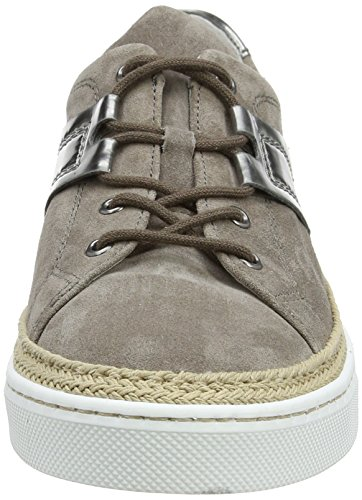 Gabor Damen Comfort Sneakers Braun (wallaby / Grafite 32)