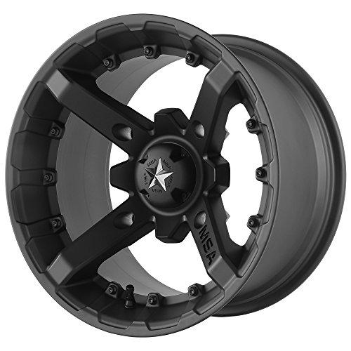 Flat Black Wheel Rims - 3