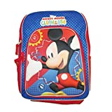 """Disney Mickey Mouse Clubhouse 16"""" Backpack (Blue/Red)"""