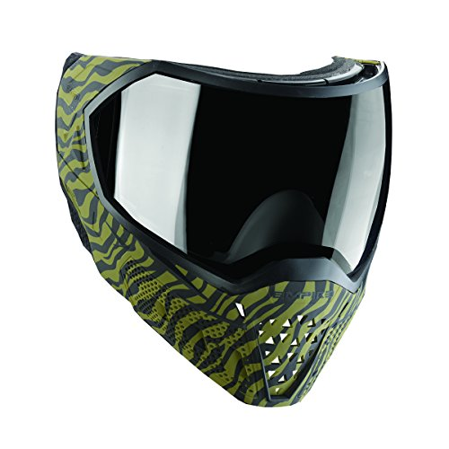 Empire EVS Paintball Mask / Thermal Goggles (LE Olive Tiger Stripe) (Stripes Mask Paint)