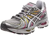 ASICS Women's GEL-Nimbus 13 Running Shoe,Lightning/White/Magenta,7.5 M US