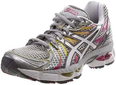 ASICS Women's GEL-Nimbus 13 Running Shoe,Lightning/White/Magenta,13 M US