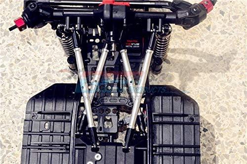 8Pc Set Silver Aluminum Adjustable Upper /& Lower Suspension Links Axial SCX10 II UMG10 Upgrade Parts AXI90075