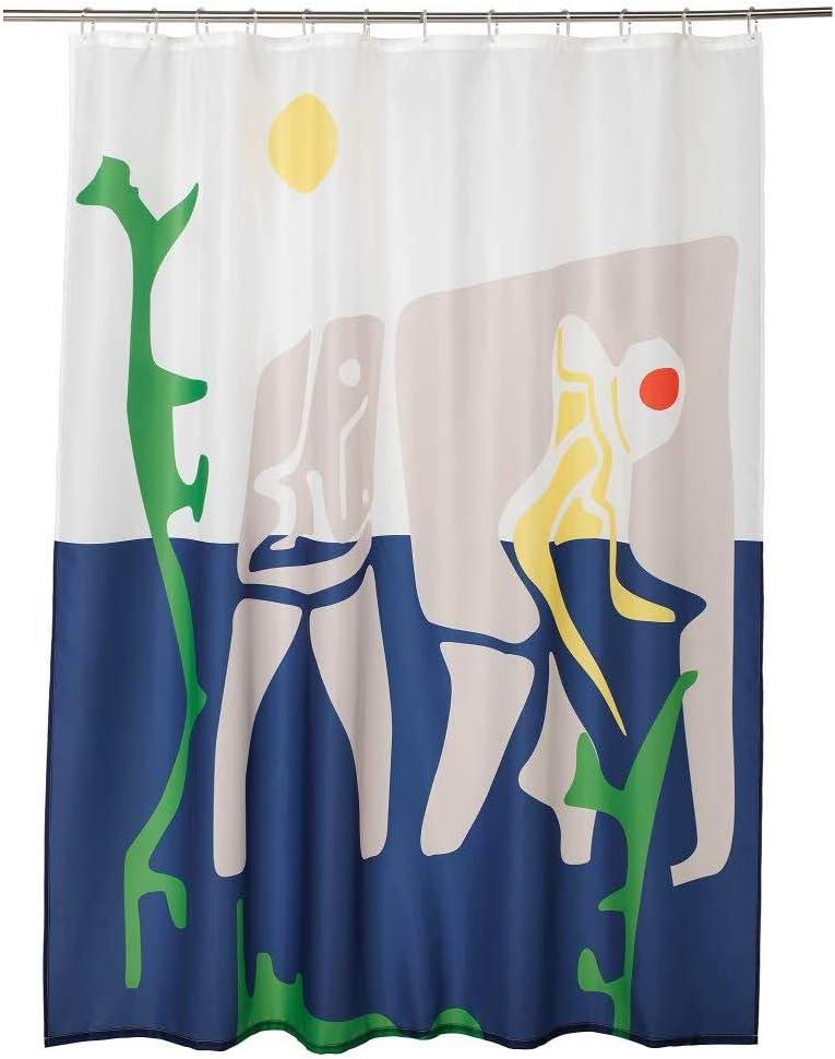 IKEA ASIA OVERALLT - Cortina de Ducha (180 x 200 cm): Amazon.es: Hogar