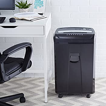 Amazonbasics 24-sheet Cross-cut Paper, Cd, & Credit Card Shredder With Pullout Basket 6