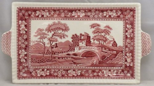 Spode Tower-Pink Large Sandwich -