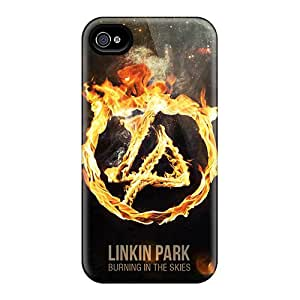 JamesKrisky Iphone 6 Bumper Cell-phone Hard Covers Allow Personal Design Fashion Linkin Park Burning In The Skies Skin [DQU8040DHvs]