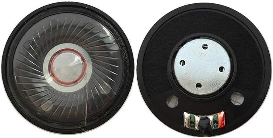 Fatteryu 2pcs 50mm Kopfhörer Lautsprecher Headset Treiber 32ohm 112db Hifi Lautsprecher Reparaturteile Küche Haushalt