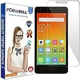 bagtag Cellbell Xiaomi Redmi 2 / Redmi 2 Prime / Redmi 2s (Clear) Tempered Glass Screen Protector -Bronze Edition
