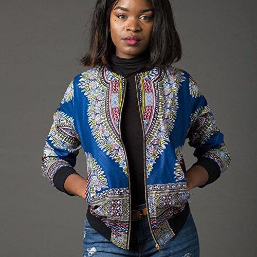 Longues Dashiki Veste Dashiki D Africaine Imprimer Femmes Mode Manches Vovotrade qtp85S