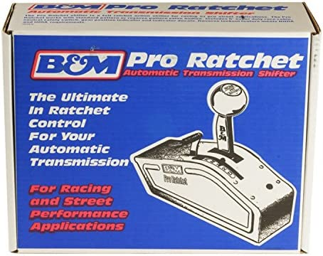 B&M 80842 Pro Ratchet Automatic Shifter for 3 and 4 Speed Transmission
